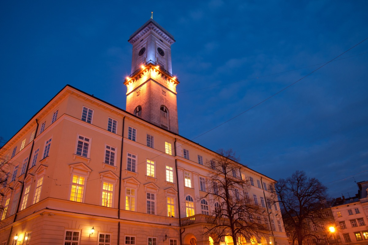 Zabytki_Lwowa-budynek_Ratusza